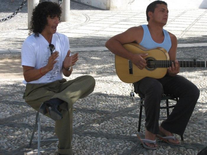 flamenco in de Arabische wijk