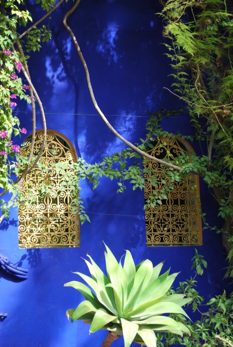 de majorelletuin in Marrakesh