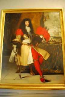 Louis XIV met karakteristieke pruik