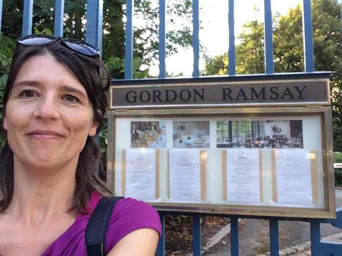Gordon Ramsay profiteert mee van de roem van Versailles