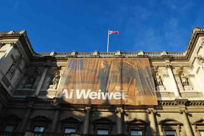 Ai Wei Wei Royal Academy Londen