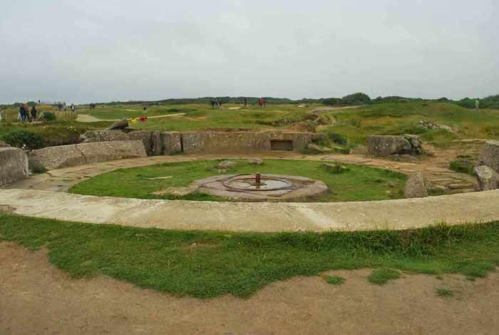 Normandië Pointe du hoc