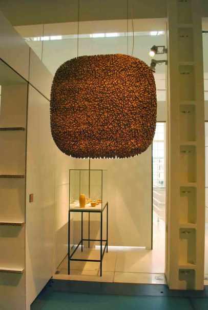 een lamp als een kunstwerk