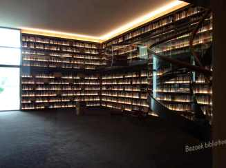 even piepen naar de bibliotheek