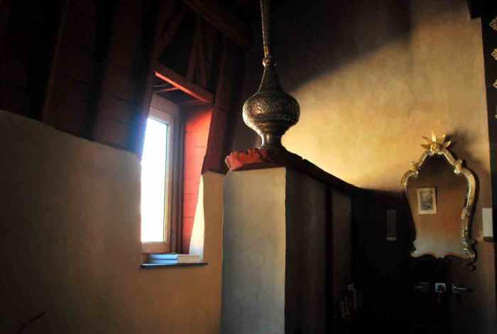 brocante en oosters interieur
