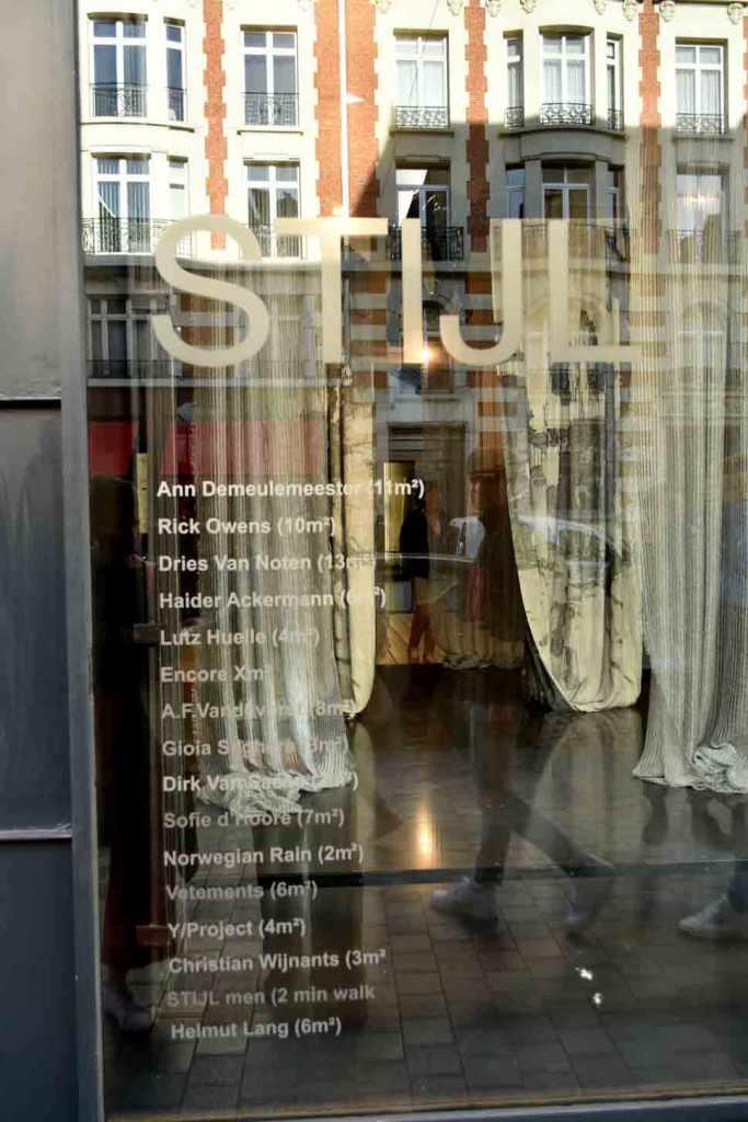 shopping- en designadresjes Brussel