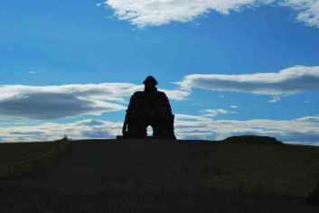 Arnarstapi IJsland beeld