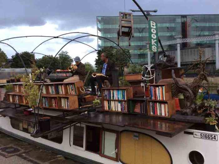 de boekenboot