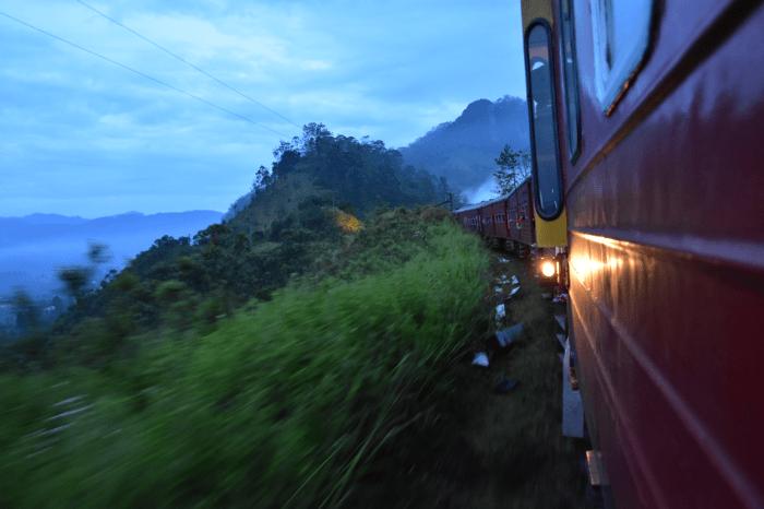 trein Ella Sri Lanka