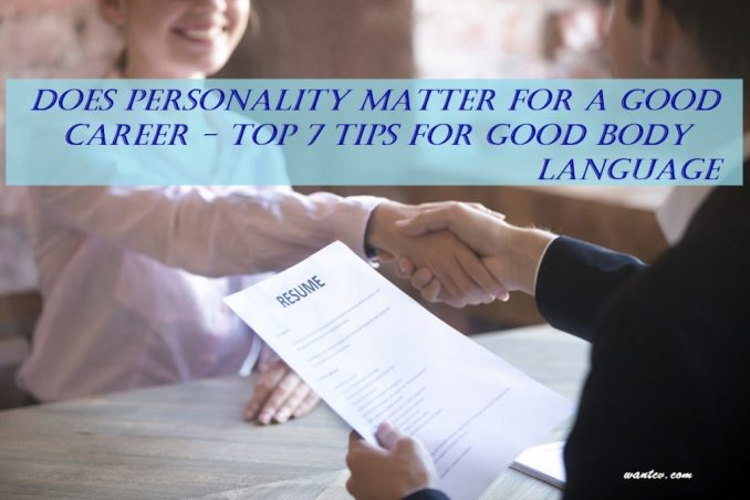 Tips for Good Body language