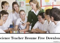 Science Teacher Resume Free Download
