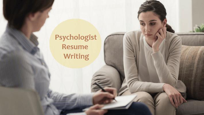 psychologist resume writing