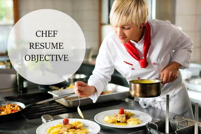 writing a Chef Resume Objective