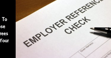 How To Choose Referees For Your CV