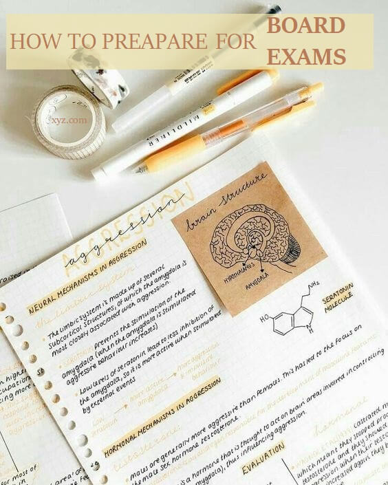 How To Prepare For Board Exams In A Short Time