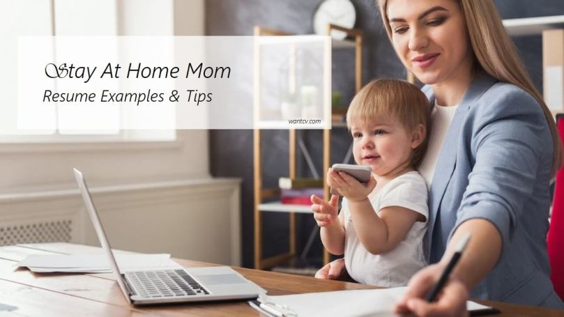 stay at home mom resume writing