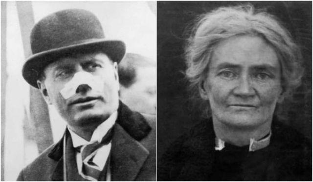 The Irish woman who shot Benito Mussolini Italia