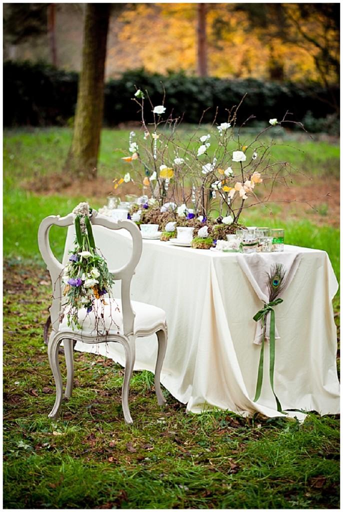 A wonderfully whimsical woodland styled bridal shoot...