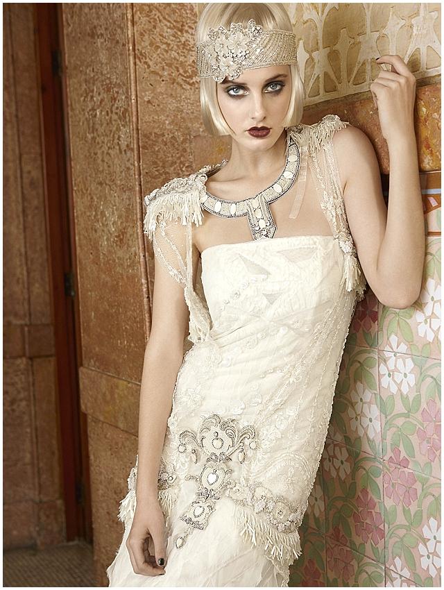 Mademoiselle Vintage 1920s Wedding Dress Inspiration