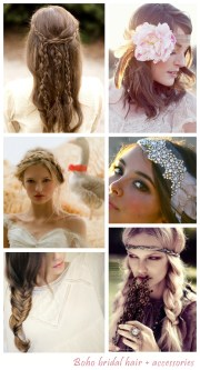 create & style bohemian wedding