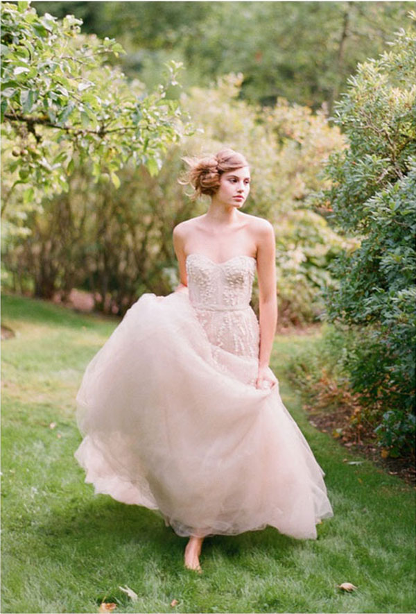 The Palest Of Pinks  Wedding Inspiration Colours
