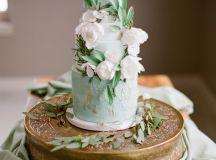 Sea-foam, Teal & Antique Gold: Wedding Inspiration ...
