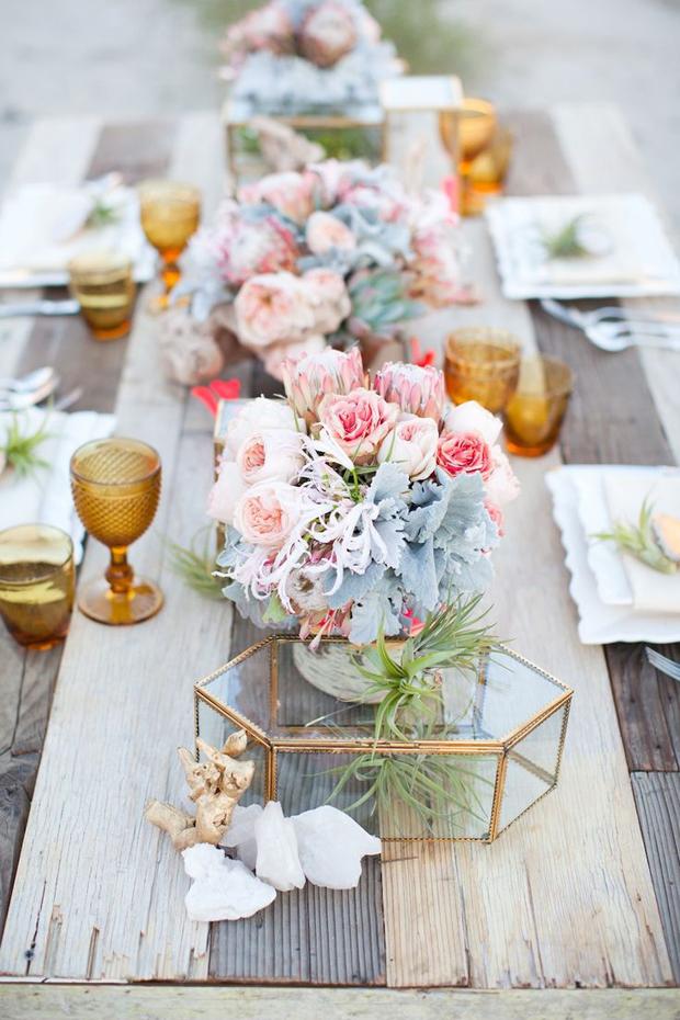 30 perfectly pretty wedding table