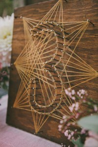 Creative Wedding Ideas: 6 Super Sweet DIY 'String Art ...