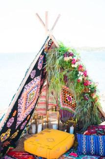 Hippie Bohemian Wedding Inspiration In Sounio Greece