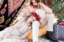 Hippie Bohemian Wedding Inspiration In Sounio Greece
