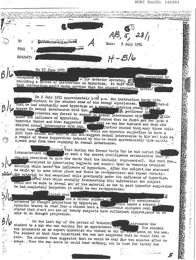 CIA Sexual Abuse