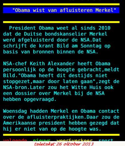 26 10 teletekst Merkel Obama NSA
