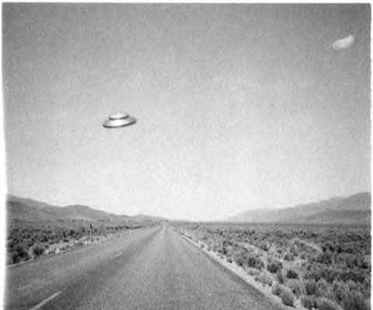 De afgelopen 50 jaar werden UFO-waarnemingen zoals deze gedaan .