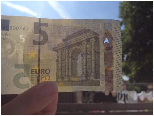 5 euro biljet