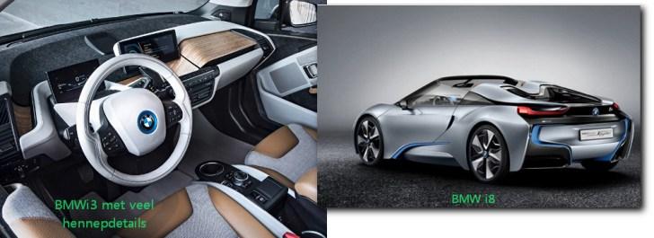 BMW i3 en  i8