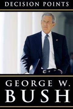 Het boek met de memoires van oud-president George W. Bush's 'Decision Points' kwam in november 2010 uit. Het staat vol met onwaarheden, leugens en bekentenissen.. Een karakteristiek beeld dus van deze marionet van de elite..