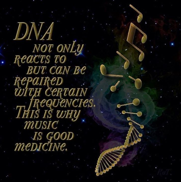 DNA frequency healing