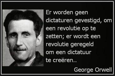 George Orwell dictatuur revolutie