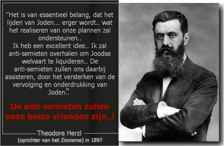Herzl Joden anti semieten