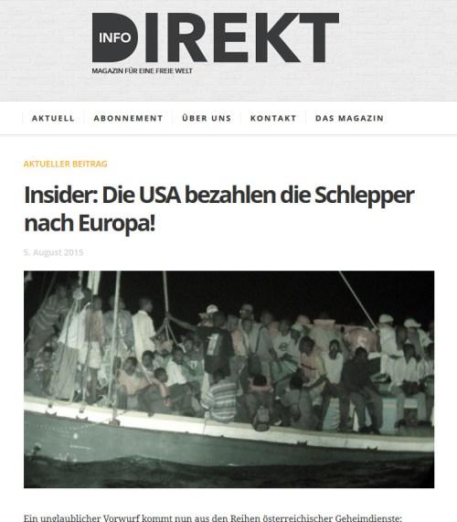 Info Direkt bootvluchtelingen