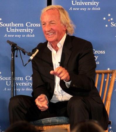 Journalist John Pilger