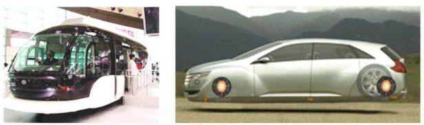 Vervoer over de weg, gaat dan -met Keshe-techiek- ook letterlijk 'over' de weg..!