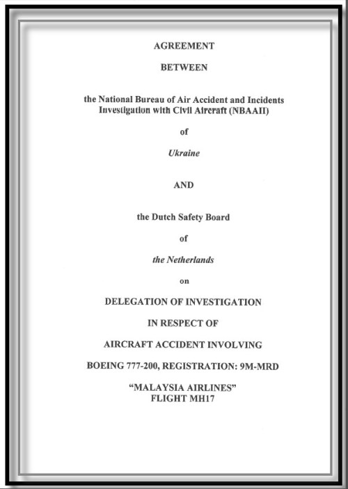 We hebben er maar even een doodsprentje van gemaakt.. Of hoe de Nederlandse regering haar soevereine rol in het MH17-onderzoek verkwanselt, door met Kiev, de mogelijke dader achter de MH17-crash, een deal te sluiten voor onderzoek met geheimhouding..!