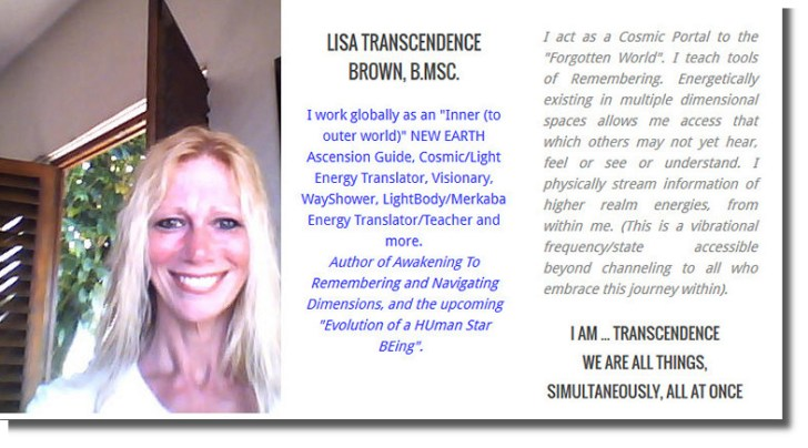 Lisa Transcendence Brown
