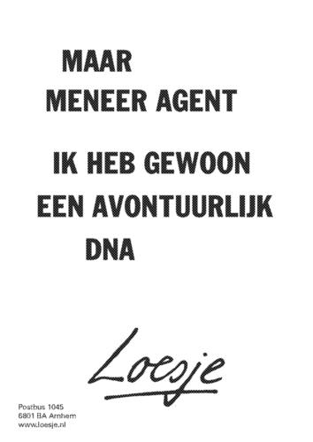 Loesje avontuurlijk DNA