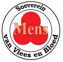 Logo, Soevereine Mens, cirkelvormig oranje