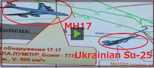 MH17 SU-25 beeld