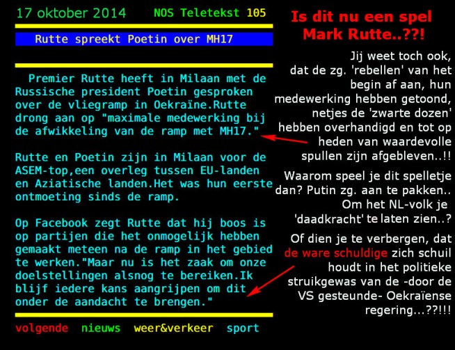 Mark Rutte MH17-spel 2