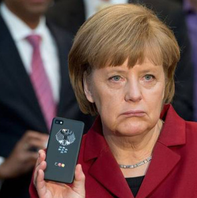 Merkel mobiel