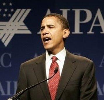 Barack Obama mocht zijn trouw betonen aan het Zionistische AIPAC-congres, vlak voor zijn uitverkiezing tot US-president..